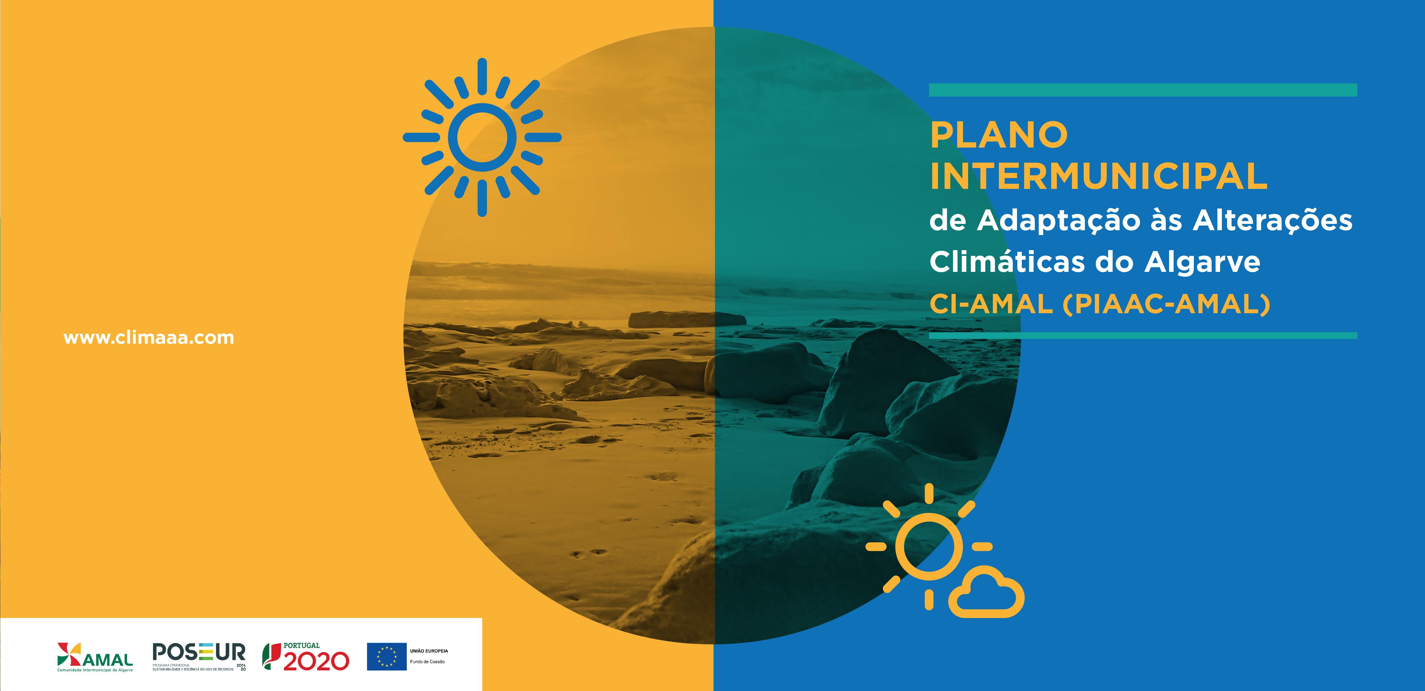 cartaz da exposição da amal sobre as alterações climáticas